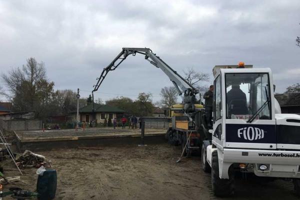 alap betonozás